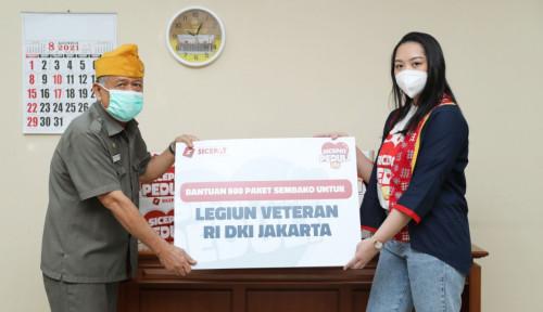 Hari Kemerdekaan RI, SiCepat Bagikan  500 Paket Sembako Untuk Veteran