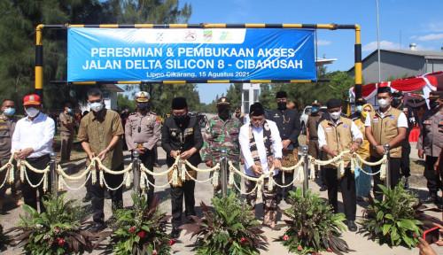 Bantu Urai Kemacetan, LPCK Buka Akses Delta Silicon 8-Cibarusah