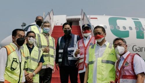 Jalankan Misi Kemanusiaan, Citilink Terbang PP Indonesia-Amerika Bawa Bantuan Kesehatan