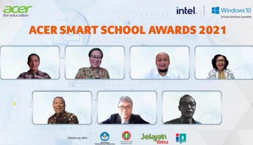 Acer Smart School Awards 2021 Hadir Mendukung Transformasi Digital Dunia Pendidikan