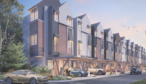 Synthesis Huis, Landed House Terbaru Berkonsep TOD jadi Pilihan para Profesional