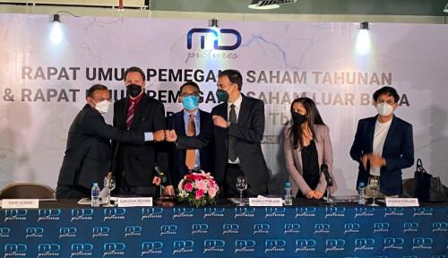 Penjualan Digital Naik, MD Pictures Cetak Laba Rp34,6 M di 6 Bulan Pertama 2021