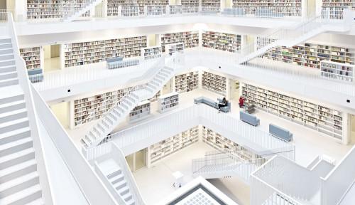 Daftar 6 Perpustakaan Terkeren di Dunia, Indonesia Juga Punya!