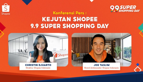 Gelar Kampanye kampanye 9.9 Super Shopping Day, Shopee Targetkan 1,2 juta UMKM bersama Joe Taslim