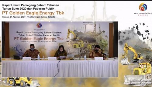 Berubah 180 Derajat dari Rugi Jadi Untung, Golden Eagle Energy Bakal Genjot Produksi