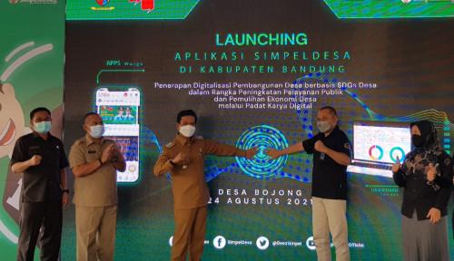 23 Desa di Kabupaten Bandung Terapkan Aplikasi simpeldesa PT Telkom