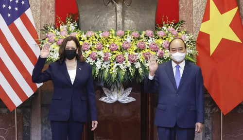Lawan Intimidasi Kuat China, Ini yang Dilakukan Kamala Harris pada Vietnam