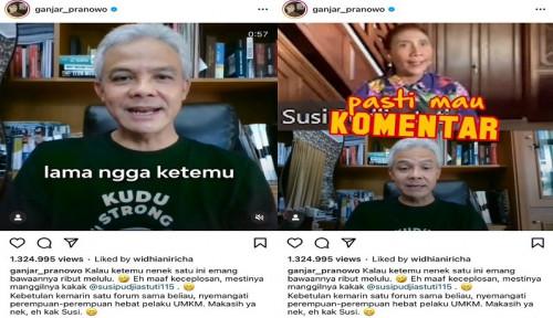 Diledek Ganjar Prabowo, Susi Pudjiastuti: Gubernur Ini Ngehe Banget