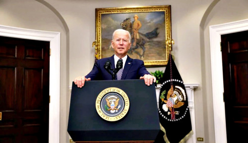 Joe Biden Tatap Solusi 2 Negara untuk Palestina dan Israel