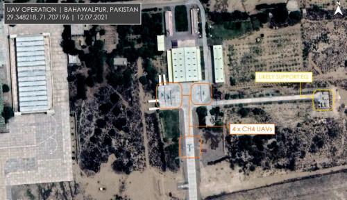 Mengkhawatirkan, Citra Satelit Tangkap Gambar Drone Predator China di Perbatasan India