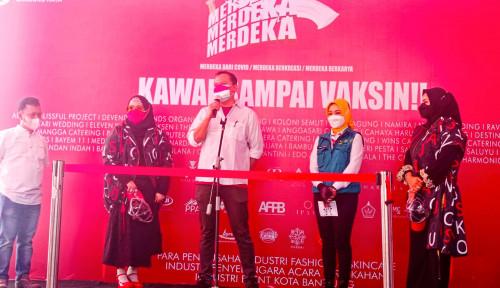 Pemprov Jabar Gaet Pengusaha Jasa Pernikahan Vaksinasi 1.000 Warga Bandung
