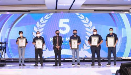 PTPP Berhasil Borong Penghargaan MURI dari Proyek yang Dikerjakan