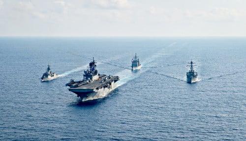 LCS Panas, Pengamat Blak-blakan Bagikan Citra Satelit Manuver China Dekat Kapal Induk Amerika