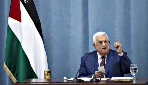 Tiba di Ramallah, Presiden Palestina Jamu Kedatangan Menteri Pertahanan Israel