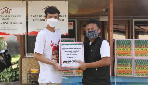 SiCepat Ekspres Distribusikan Bantuan Paket Sembako dari Amazon Untuk Penyintas COVID 19