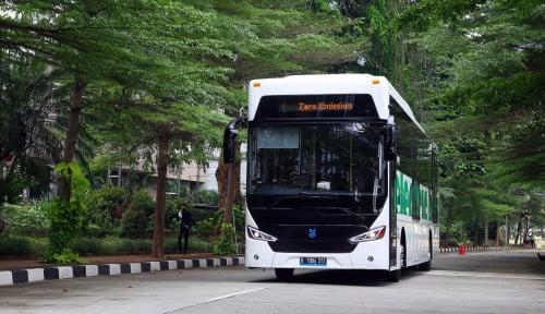 Tekan Emisi, Grup APRIL Gandeng MAB Gunakan Bus Listrik Ramah Lingkungan