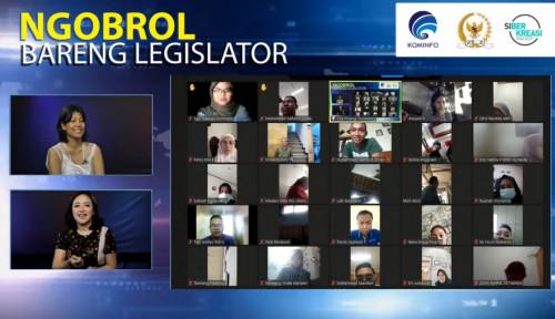 Ngobrol Bareng Legislator, Konsistensi adalah Kunci Kembangkan Literasi Digital