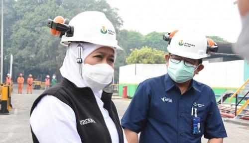 Gubernur Khofifah Terima Bantuan CSR Oksigen Cair 31 Ton dari Petrokimia Gresik