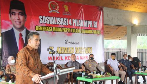 Terbang ke Lampung, Muzani Tegaskan: Warga Lampung Menjunjung Tinggi Toleransi Keberagaman