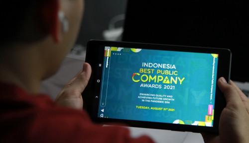 Daftar Pemenang Indonesia Best Public Company 2021. Selamat!
