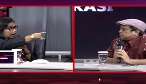 Panas, Irma Chaniago ke Haikal Hassan: Nggak Usah Banyak Ngomong Ente!