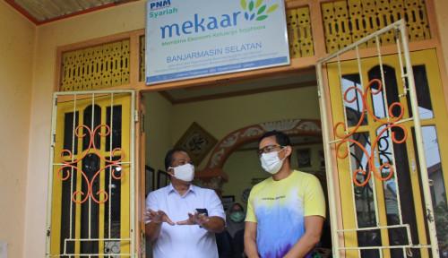 Sandiaga Uno Kunjungi Nasabah dan Karyawan PNM Banjarmasin