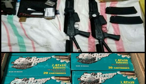 Polisi Buru Pemasok Senjata Api untuk KKB di Puncak