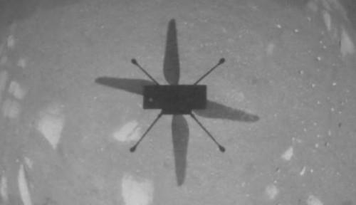NASA Berhasil Menerbangkan Helikopter Setelah 6 Bulan di Mars