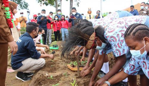 Kunker Mentan Ke Papua, Bukti Negara Hadir Bangun Pertanian Indonesia Secara Merata