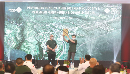 MNC Land Tbk Kantongi PP KEK Pariwisata MNC Lido City, Hary Tanoe: Kami Sedang Bekerja Keras
