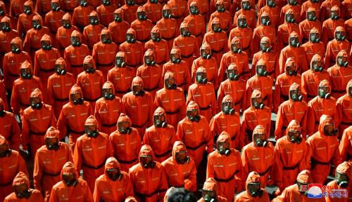 Rayakan HUT ke-73, Parade Militer Korea Utara Berbeda karena Tanpa Rudal