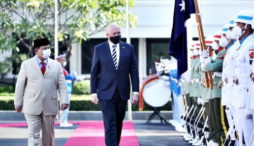 Prabowo Pastikan Belasan Kendaraan Militer Ini Dikirim Australia ke Indonesia