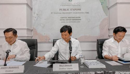 Pendapatan Sektor Real Estate DFAM Naik 53,41% di Semester I-2021