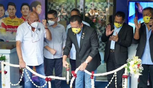 Bamsoet Resmikan Kantor Baru Ikatan Motor Indonesia (IMI) di Gelora Bung Karno