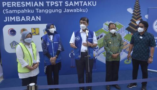 Perkuat Komitmen Ekonomi Sirkular, Danone-Aqua Resmikan TPST Terbesar di Bali