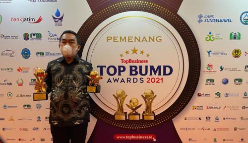 Di Ajang Top BUMD, PT MEA Bawa Pulang 2 Penghargaan Sekaligus