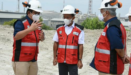 Dukung Percepatan Proyek Pabrik Soda ASH, Menteri Bahlil Lahadalia Tinjau Petrokimia Gresik