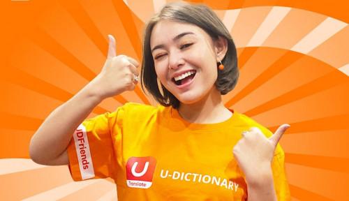 U-Dictionary Friends Amanda Manopo Ajak Masyarakat Terus Kembangkan Diri, Belajar Bahasa Asing