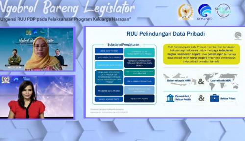 Komisi I DPR RI : RUU PDP Dinilai Penting Sebagai Landasan Terwujudnya Program Keluarga