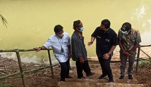 Dengarkan Permintaan Warga Cikuya Tangerang, Erick Thohir Akan Penuhi Janji Bangun Jembatan