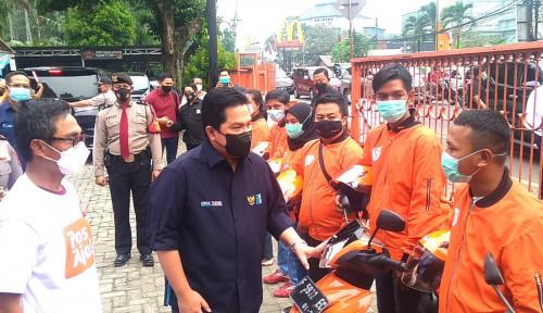 Soal Transformasi Digital PT Pos Indonesia, Menteri BUMN Erick Thohir Bilang...