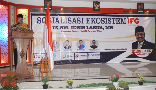 Gandeng IFG, Idris Laena Berpesan Pelaku UMKM Sambut Program Pemulihan Ekonomi Nasional