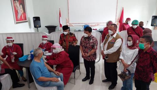 Ahmad Basarah Selenggarakan Vaksinasi Covid-19 Bagi Masyarakat Malang Raya