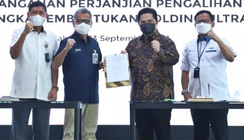 Catatkan Sejarah UMKM Indonesia, BRI Resmi Jadi Induk Holding BUMN Ultra Mikro
