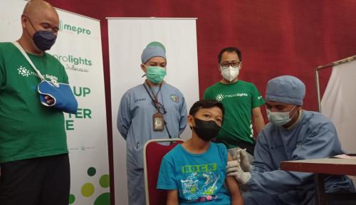Wujudkan Herd Immunity, Meprofarm Vaksinasi 800 Pelajar Bandung