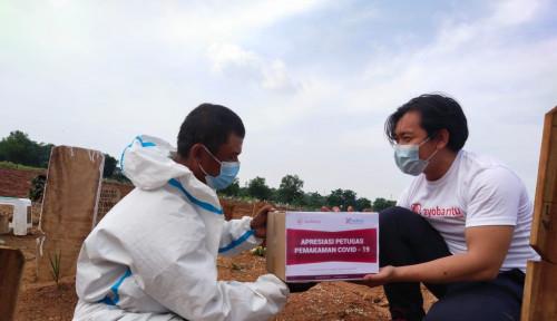 Kredivo Tunjuk Ayobantu Salurkan Donasi untuk Petugas Pemakaman Covid-19
