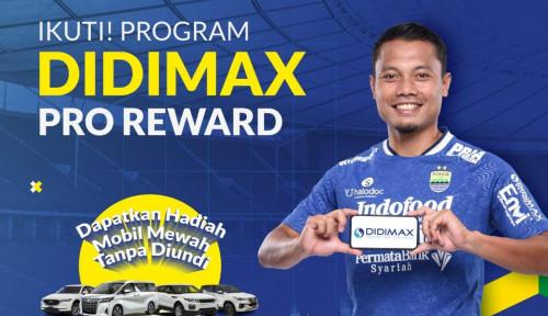 Didimax Berjangka Kembali jadi Sponsor Persib Bandung