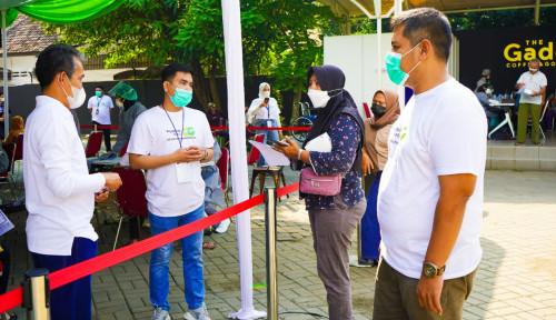 Pegadaian Kanwil IX Sukses Gelar Sentra Vaksin Pegadaian Peduli di Banten