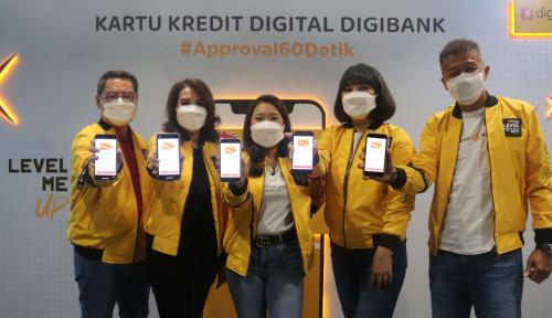 Pertama di Indonesia, digibank by DBS Luncurkan Kartu Kredit Digital dengan Approval 60 detik
