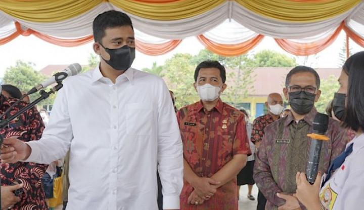 Bobby Nasution Berikan Koreksi ke Presiden Jokowi soal Uang Mengendap di Bank